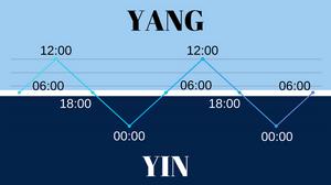 יום ולילה לפי יין ויאנג