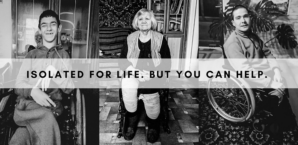 Three touching stories of people who live in isolation for the whole lives due to their health problems. Read how you can help. Each donation contributes to their dreams.