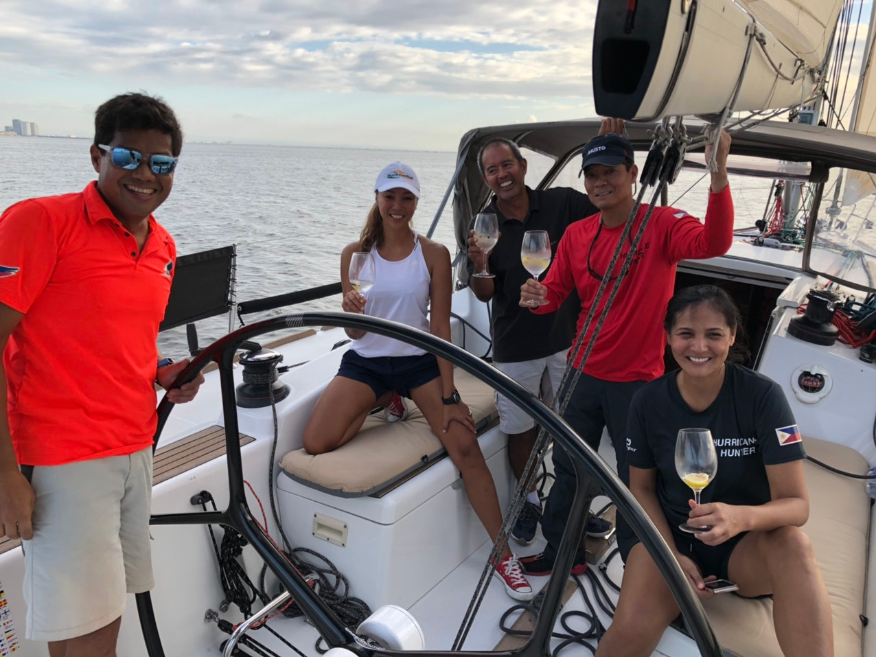 Team Hurricane Hunter with skipper Albert Altura