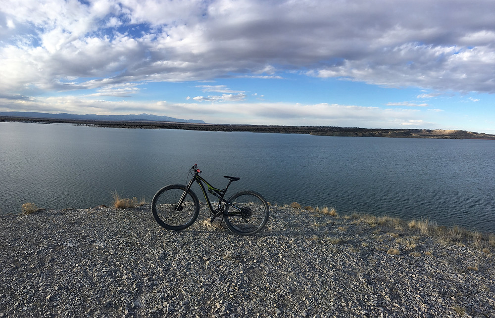 A morning ride at Lake Pueblo Trails