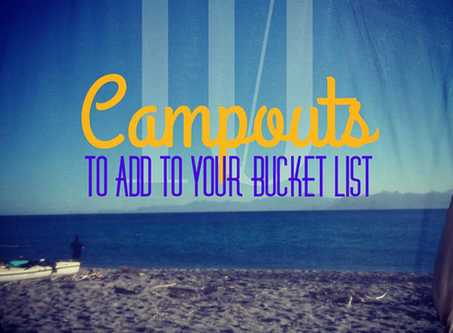 The Campout Bucket List