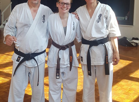 June Gradings 2018