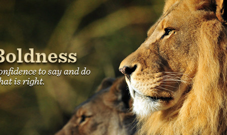 Minister's Monday Moment - Boldness for the Lord