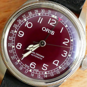 Appreciating Oris And The Big Crown Pointer Date In Red