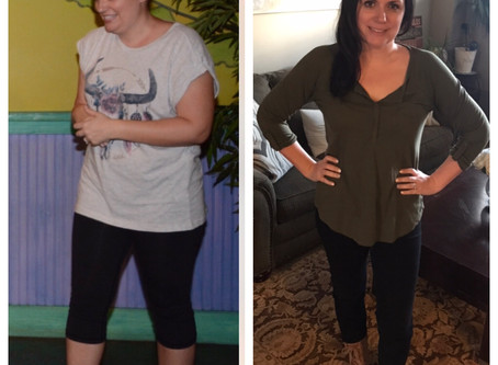 """Keto Keeping It Real: """"It was my dream to be a before and after example and now I am!!"""" Natalie"""