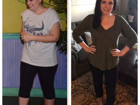 "Keto Keeping It Real: ""It was my dream to be a before and after example and now I am!!"" Natalie"