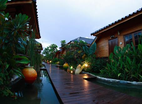 ไปนอนฟังเสียงฝนใช้ชีวิตช้าๆ ไม่ต้องรีบไปไหน โรงแรมสตาร์เวลล์ บาหลี นครราชสีมา ถนนบายพาสขอนแก่น