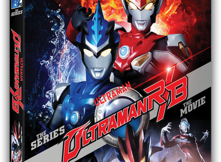Mill Creek Announces Ultraman R/B for Blu-Ray in October Along With Some Updates on Other Series.