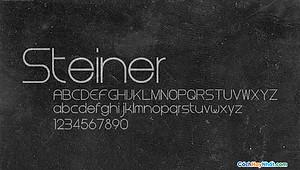Font Steiner Free