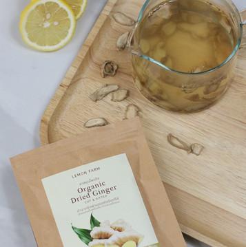 Ginger (Lemon) Honey Tea  เพิ่มภูมิต้านทานง่ายๆได้ทุกวัน