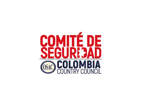 Comité de Seguridad CEA – OSAC con Jairo García Viceministro de Planeación y Estrategia- MinDefensa
