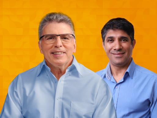 Eleições 2020: entrevista com Newton Godoy e Tenente Freitas, candidatos a prefeito de Mariana
