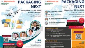 Seminar Program:  PACKAGING NEXT November 25 - 26, 2020