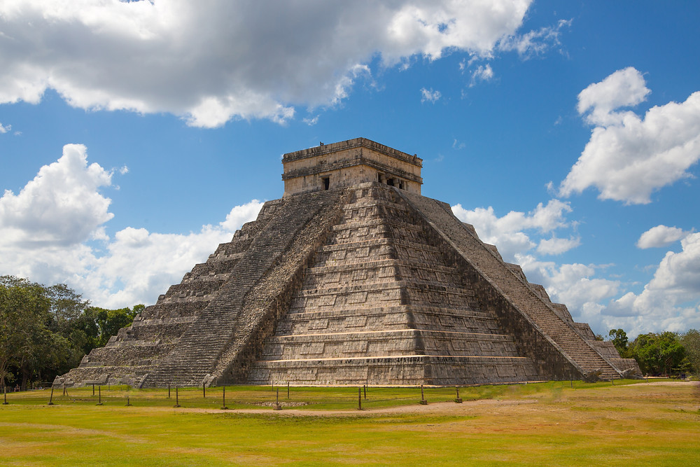 Maya , temple , Mexique , Chichén Itza, grotte