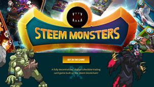 """""""Steem Monsters"""" Jeu de cartes sur la blockchain Steem"""