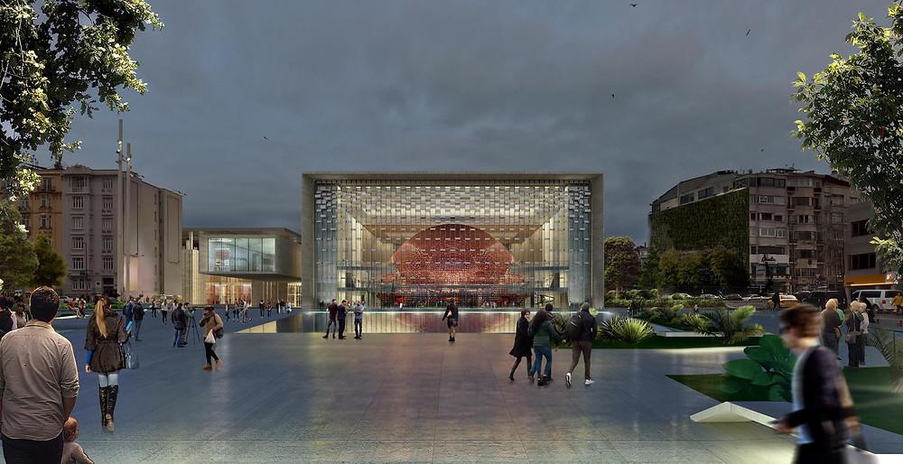 Atatürk Kültür Merkezi / Tabanlıoğlu Mimarlık