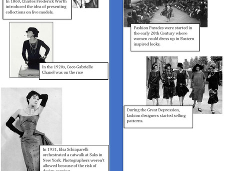 A Brief History of the Fashion Industry