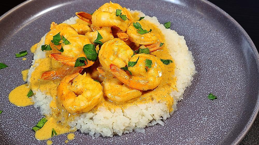 Keto Shrimp Curry Recipe
