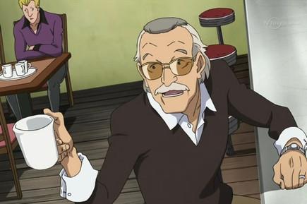 Stan Lee in Heroman (Source: TV Tokyo)