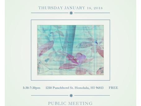 Public Meeting!