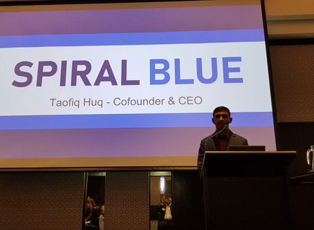 Spiral Blue wins 3rd place at the Australian Space Research Conference pitch competition