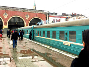 """This train does not go to Rotterdam!"" - Or how to travel from Kyrgyzstan to the Netherlands by rail"