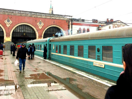 This train does not go to Rotterdam, or how to travel from Kyrgyzstan to the Netherlands by rail