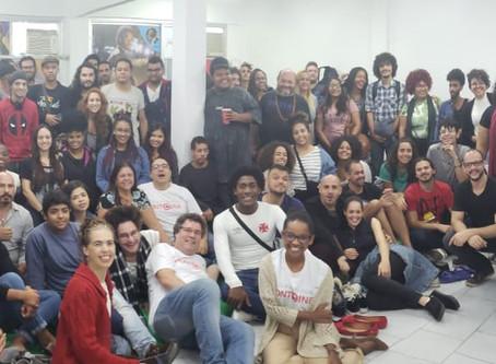Abertura dos cursos no Ponto Cine em parceria com o IFRJ - por Adailton Medeiros.