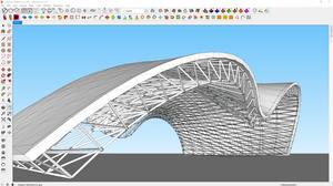 Print de modelagem orgânica no SketchUp