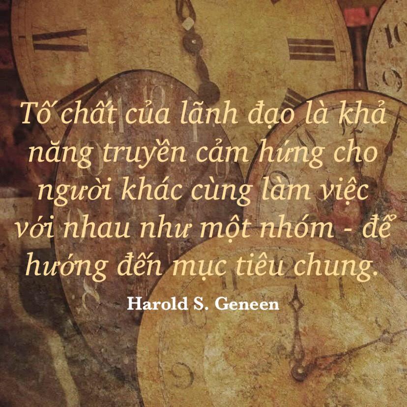 Lãnh đạo để hướng đến mục tiêu chung Harold Geneen
