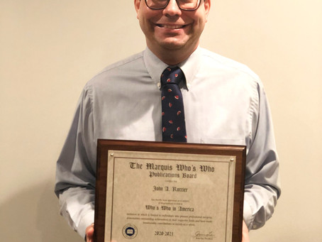 Another milestone year for Law Office of John Rottier