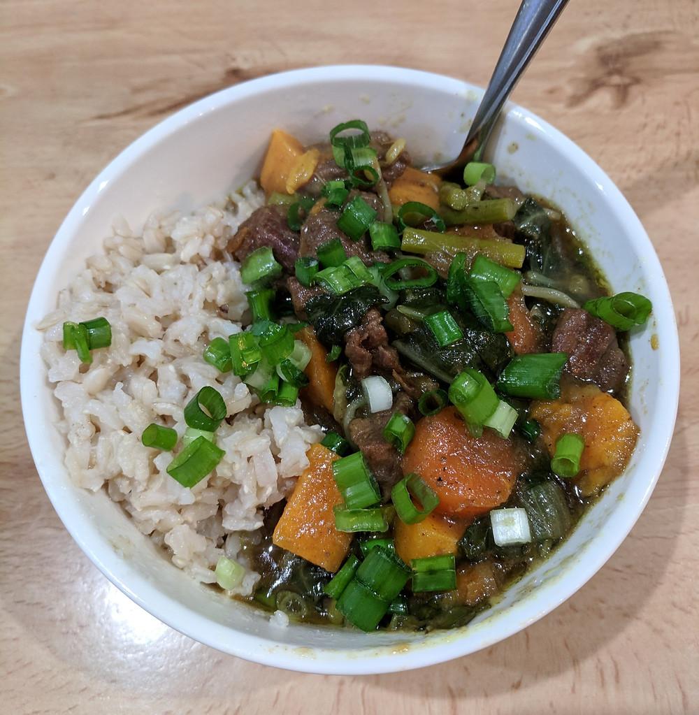 Nightshade-Free Japanese Curry with Rice - Amanda MacGregor - Food Allergy Recipe