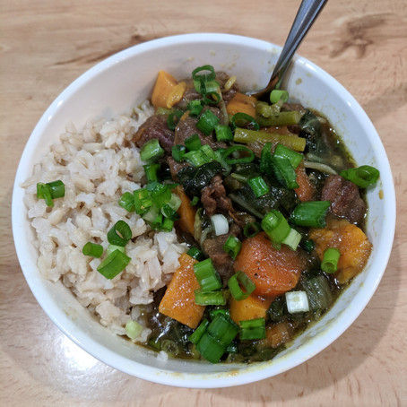 Nightshade-Free Japanese Curry with Rice