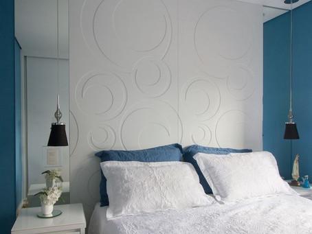 Tendência em cabeceiras para você fazer bonito na decoração dos interiores dos quartos e das suítes