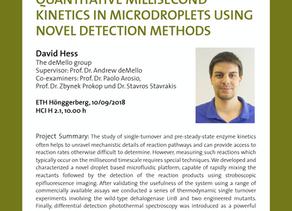 PhD public presentation by David Hess