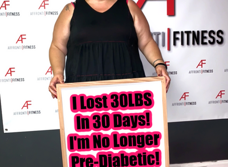 I Lost 30LBS in 30 Days!