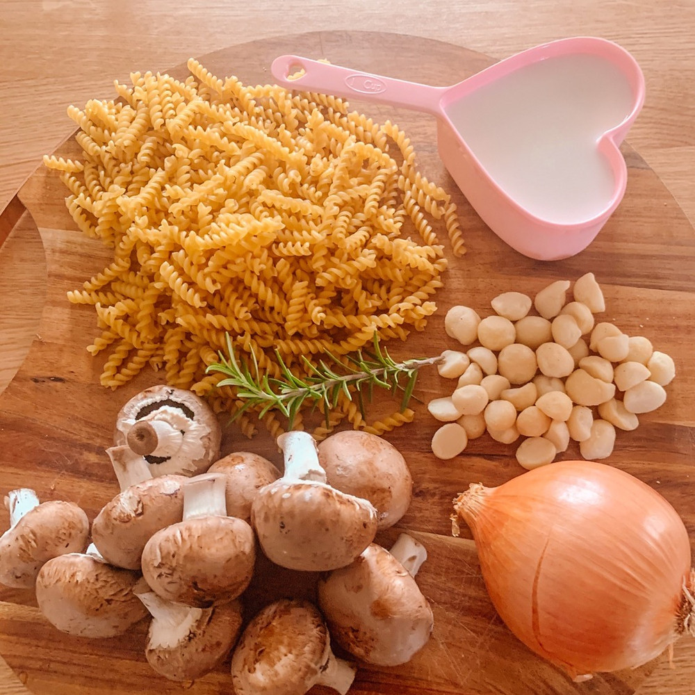 Vegan Mushroom One Pot Pasta Vanlife Recipe