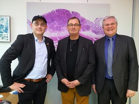 Neue Vorhaben mit Dr. Günther Jonitz