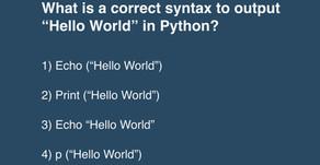 Python Quiz #1