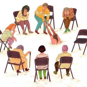 ПСИХОЛОГИЧЕСКИЕ ГРУППЫ: виды, показания, преимущества перед личной терапией