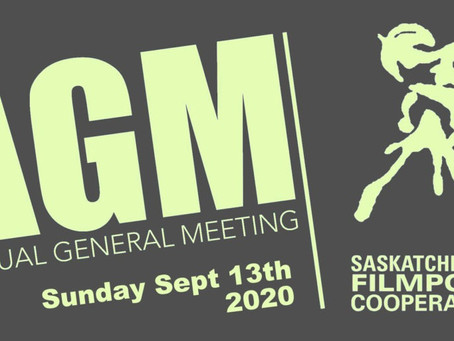 ANNUAL GENERAL MEETING 2020 SUNDAY, SEPTEMBER 13th AT 1 PM (ONLINE MEETING)