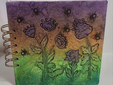 A Hint of Gold Garden Journal
