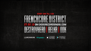 Tonight on Exode Records Radio [Frenchcore District]
