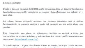 ICOM news in Spain