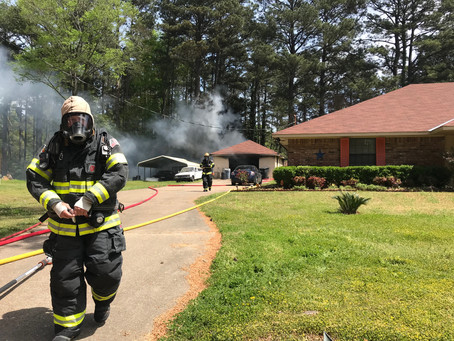 Outside Fire Destroys Two Detached Garages