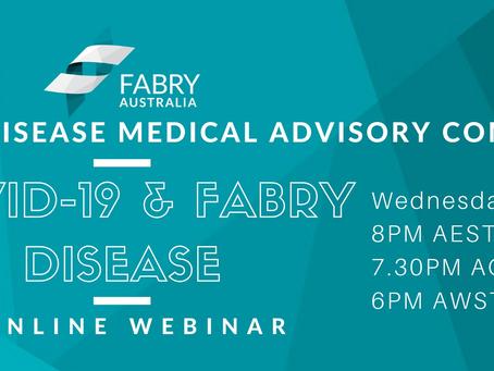 COVID-19 & Fabry Disease Webinar Report