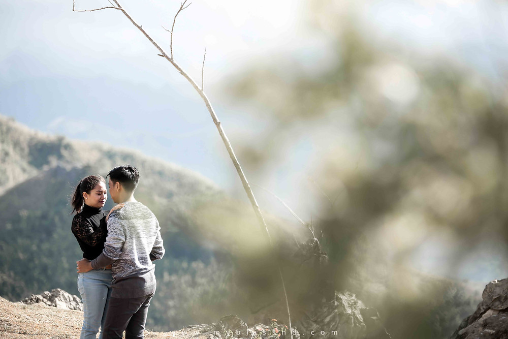 Treasure Mountain Outdoor Prenup Photography