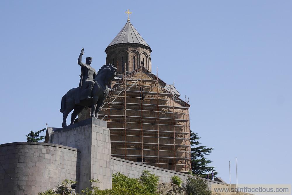 Vakhtang Gorgasali at Metekhi