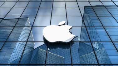 editorial-apple-inc-logo-on-glass-buildi