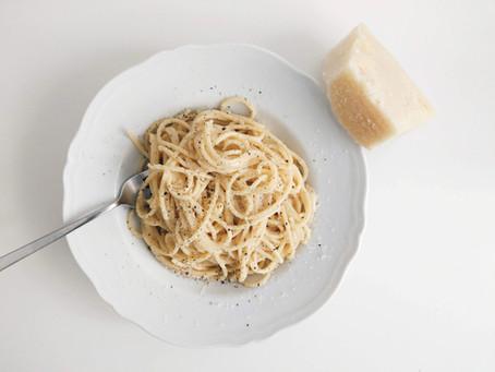 Spaghetti Cacio e Pepe 義大利餐桌│黑胡椒乳酪義大利麵